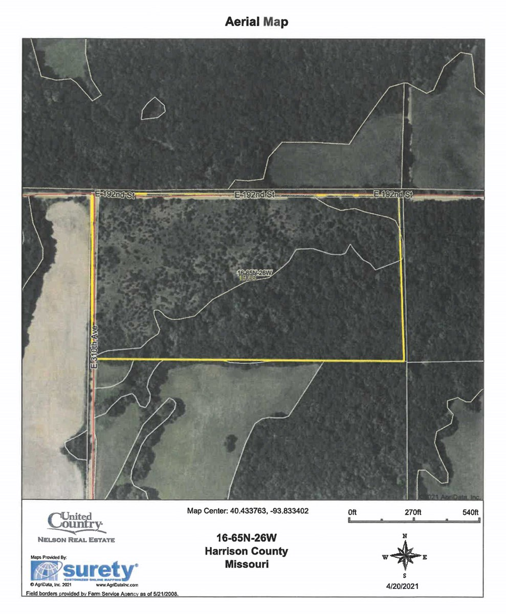 For Sale 20 Acre Hunting Tract