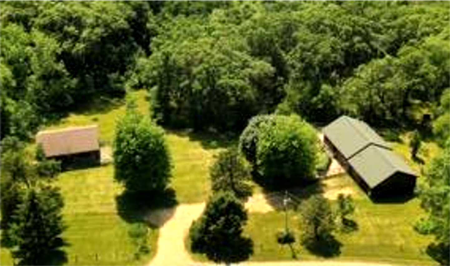 2 Log Homes for 1 Price in Galena IL