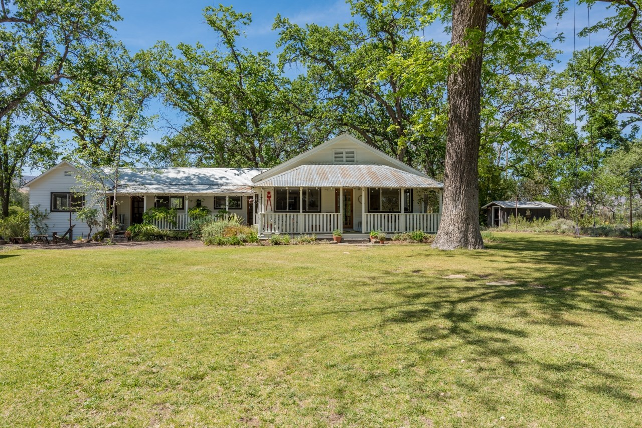 Northern California Country Home & Barn on Acreage For Sale