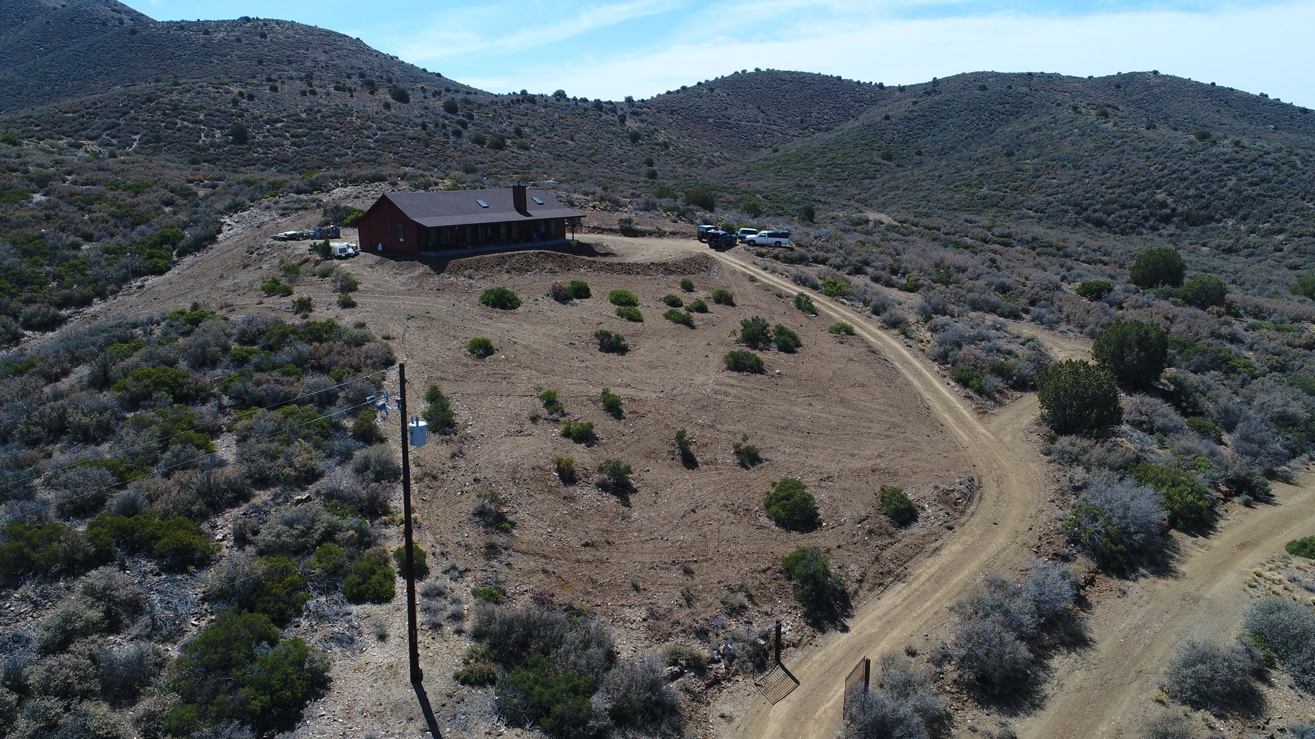 Home with Views and Land, Borders State Trust, NO HOA