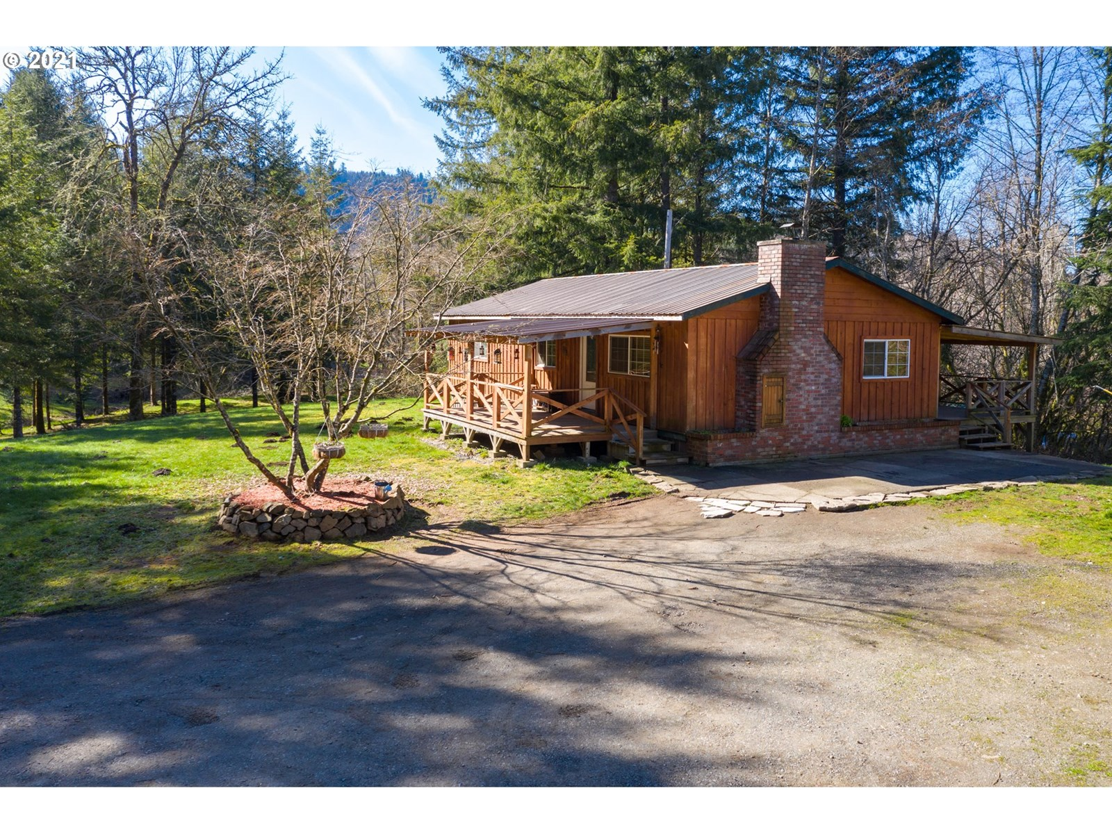 Amazing 5.74 acre ranch home with 960 sq/ft shop/detached ga