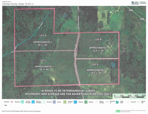 25 Ac East Texas Land for Sale