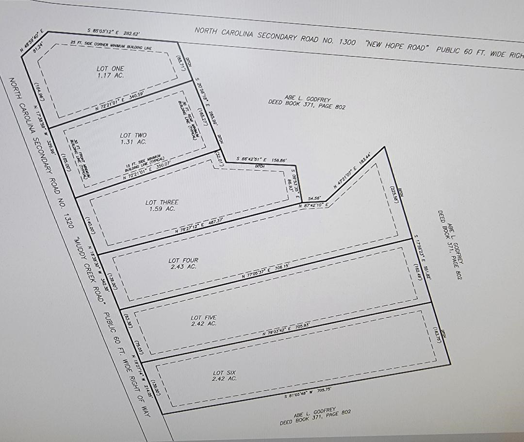PERQUIMANS COUNTY, NC LOT FOR SALE WITH 2.42 +/- ACRES