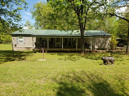 MOBILE HOME ON 6 ACRES M/L