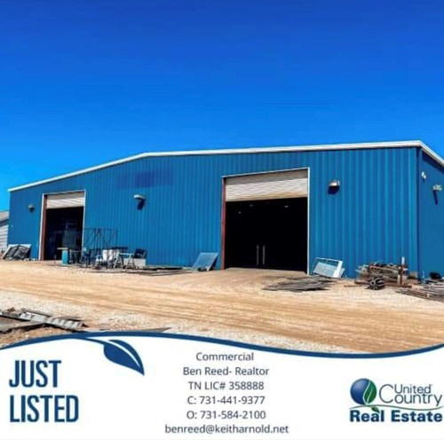 Commercial Property Camden TN with Acreage