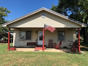 LAND AND HOME FOR SALE IN HICKORY PLAINS, ARKANSAS