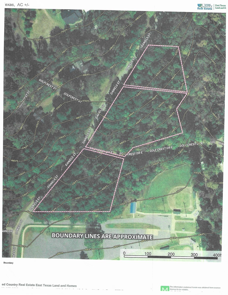 Rusk, TX residential lots for sale.