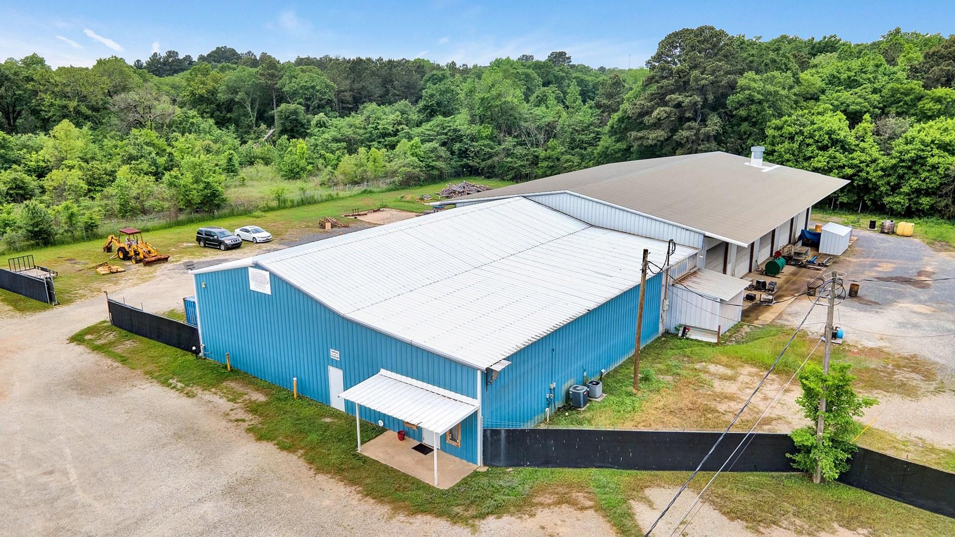 Commercial Property Auction Longview Texas Warehouse