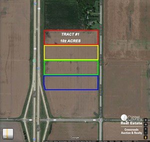 TRACT #1 - 10± ACRE COMMERCIAL DEVELOPMENT LOT NEAR SALINA