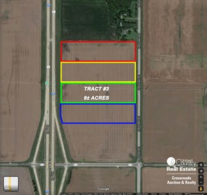 TRACT #3 - 9± ACRE COMMERCIAL DEVELOPMENT LOT NEAR SALINA