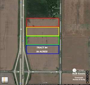 TRACT #4 - 9± ACRE COMMERCIAL DEVELOPMENT LOT NEAR SALINA