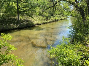 RANCHES FOR SALE IN TEXAS - 60+ ACRES ON LAMPASAS RIVER