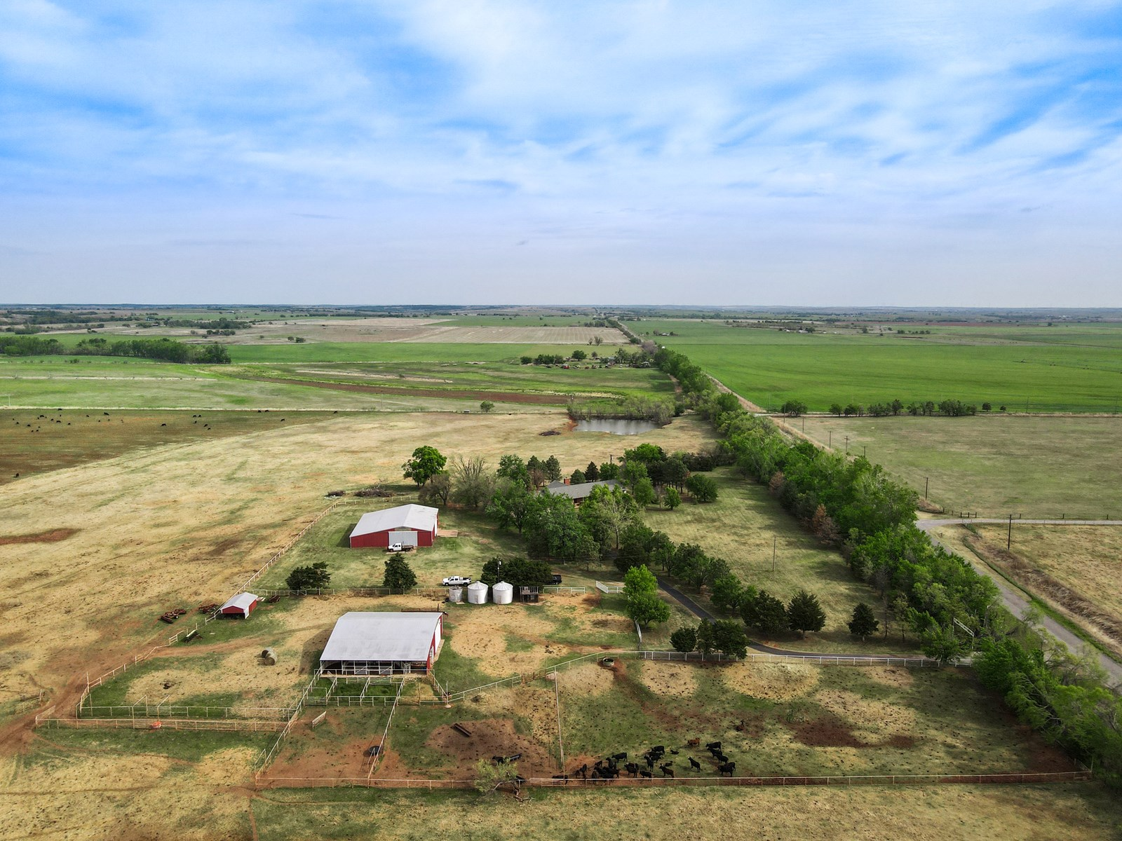 LAND AND HOME FOR SALE VERDEN CADDO COUNTY OKLAHOMA RIVER