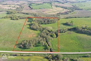 TIMBERED HUNTING PROPERTY FOR SALE IN SOUTHERN IOWA WITH CRP