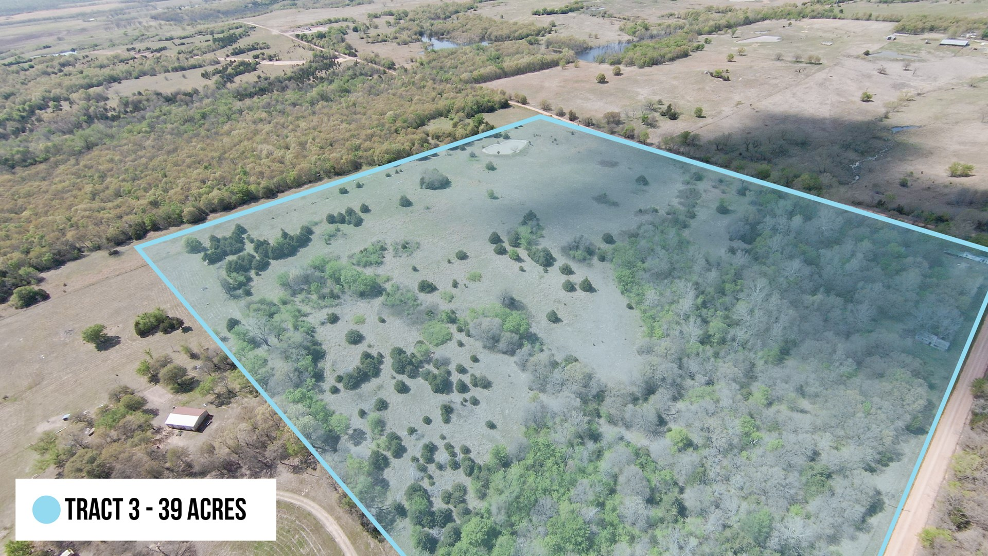 Oklahoma Hunting Land for Sale –  Lincoln County - 39 Acres