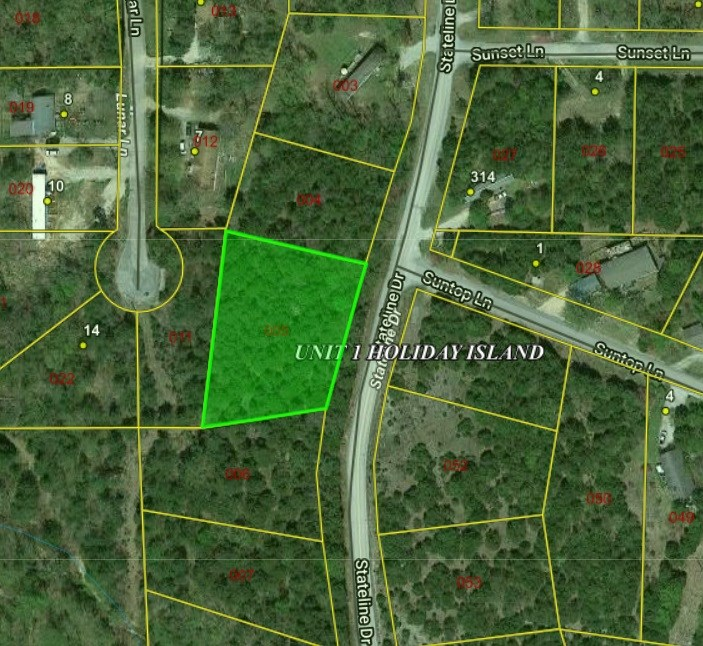 Builder Lots For Sale in Holiday Island, AR