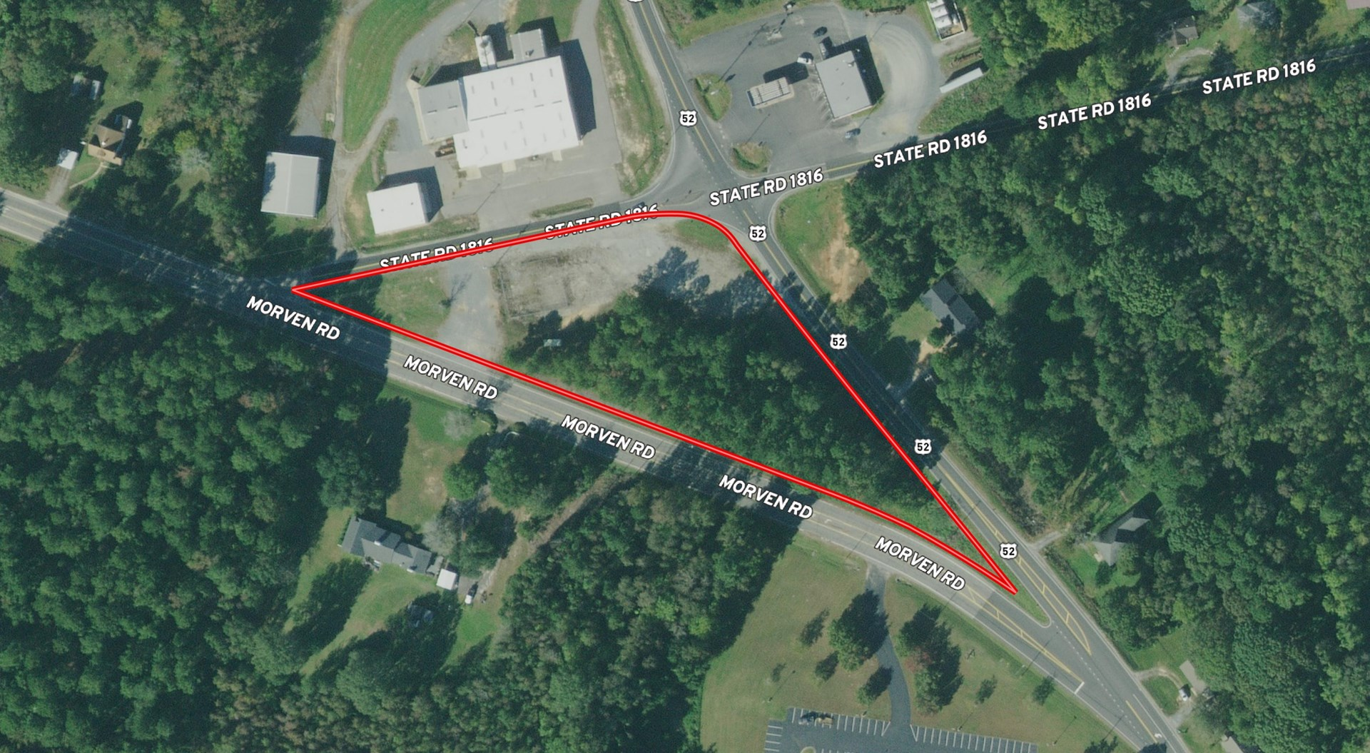 Commercial Lot For Sale in Wadesboro, NC