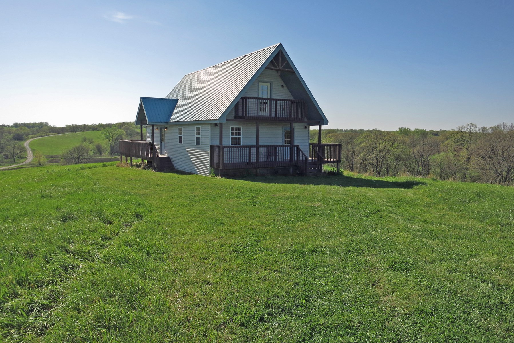 For Sale 1000 sq. ft. Cabin on 11.5 Acres m/l