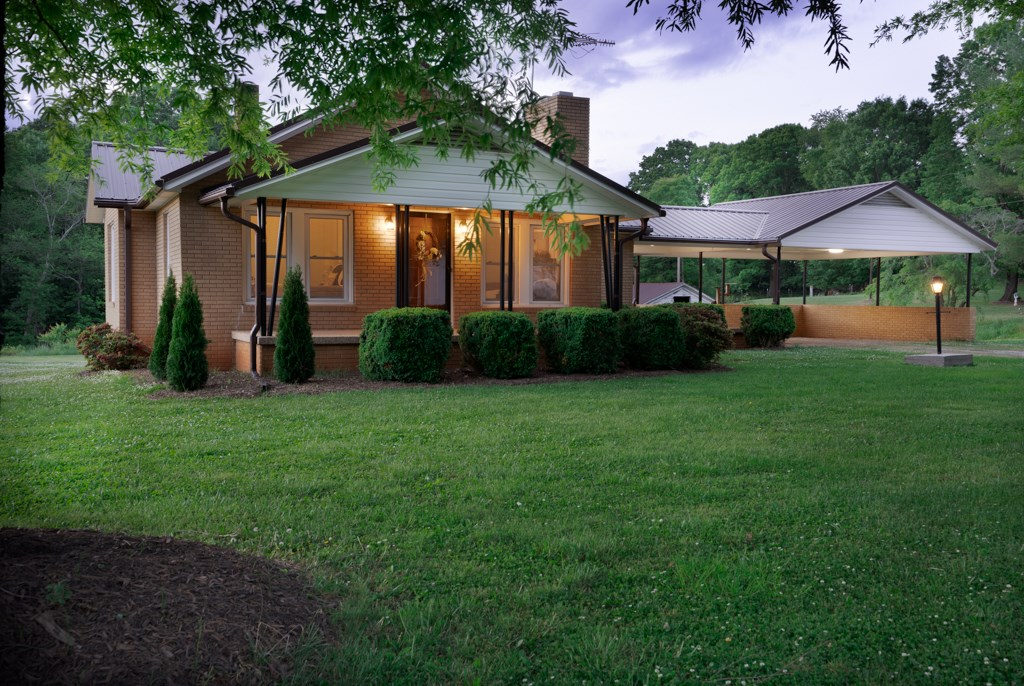 Brick home and 2+ acres for sale in Alexander County NC