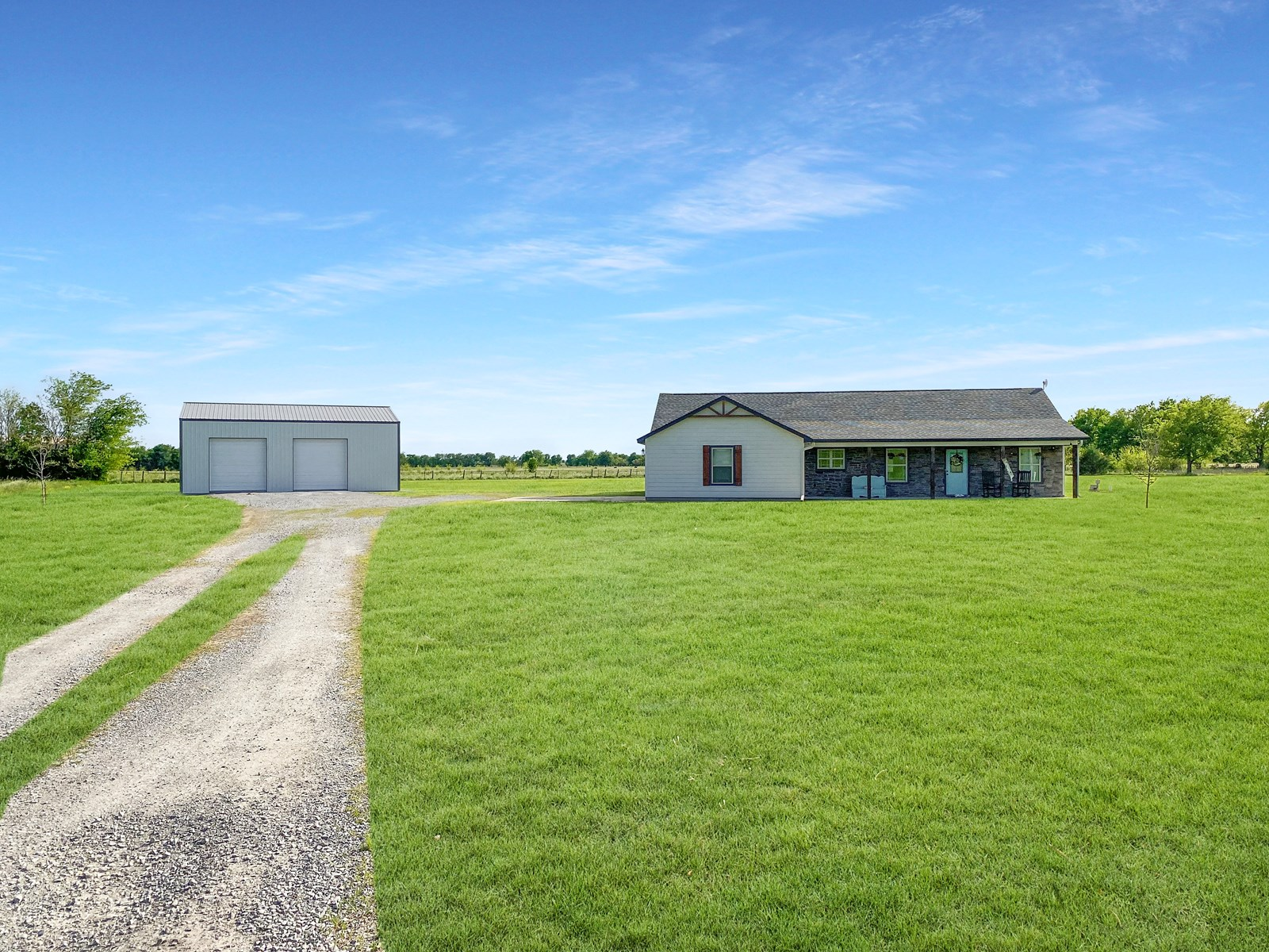 Country Home For Sale in Pryor, Oklahoma