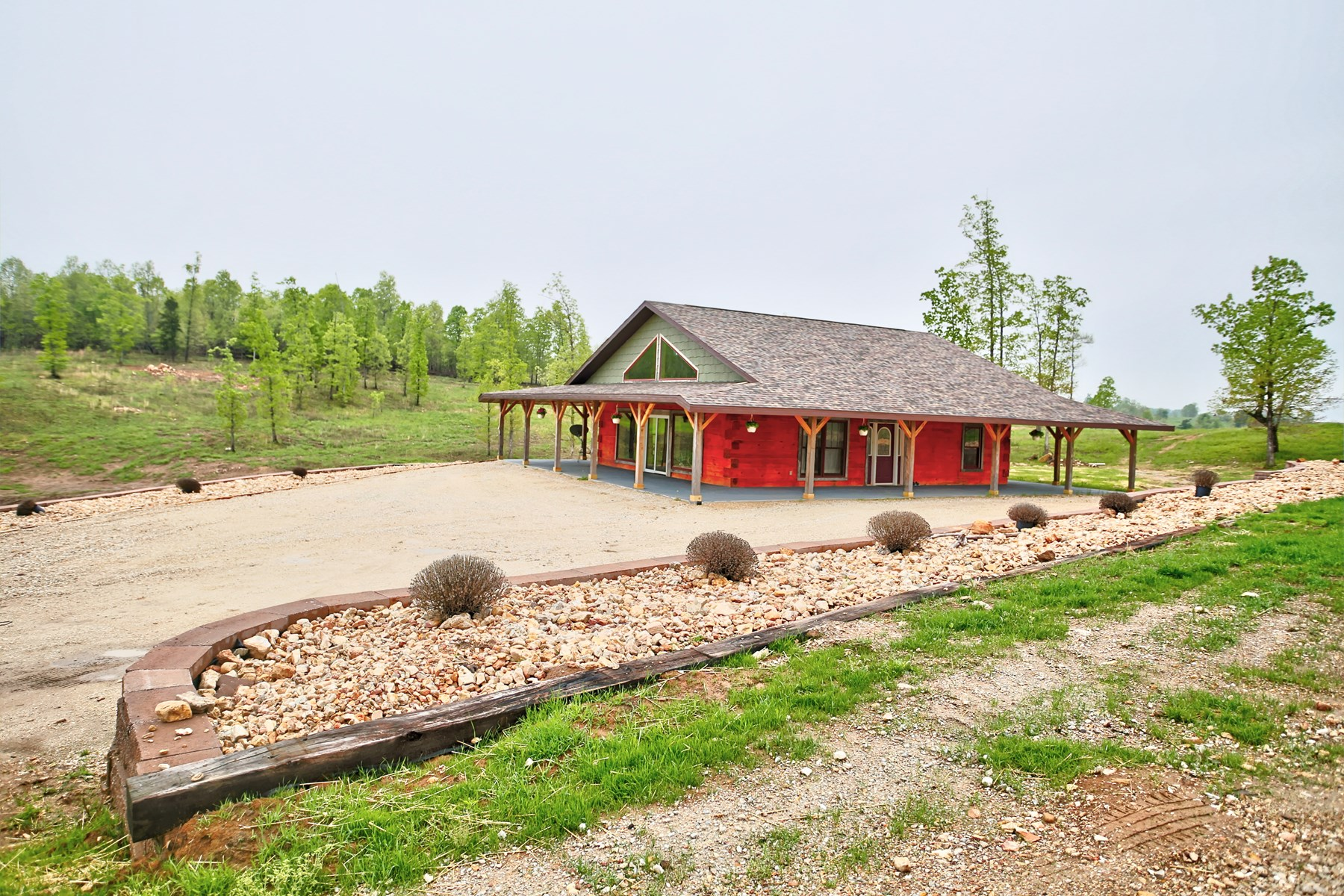 Self-Sufficient Ozark Farm with Newer Farm Style Home!