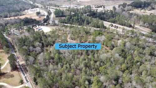 Prime Development Land - 16.5 Acres - Hwy 26, Poplarville,MS