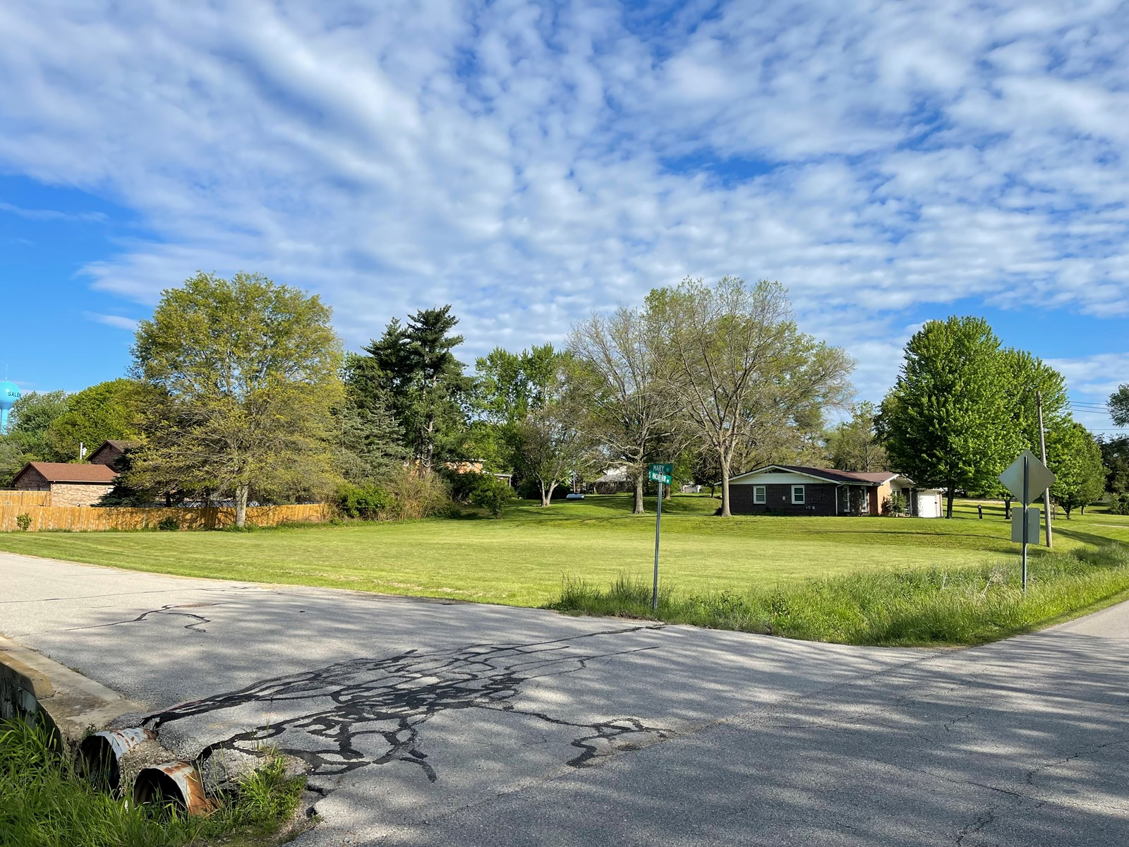 Looking to build?  Check out this corner lot in Salem!