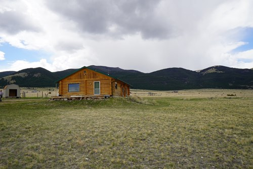 Montana Log Cabin and Horse Property for sale near Boulder