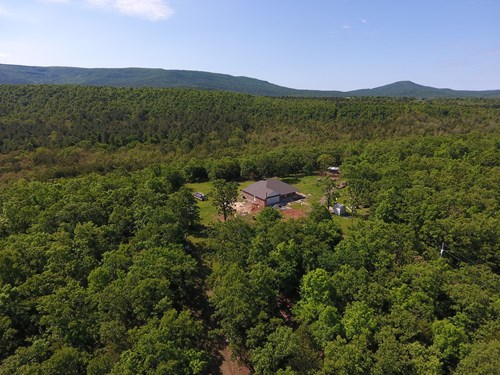 New Brick Home & 20 Acre Farm - For Sale