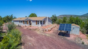 OFF GRID HOME FOR SALE BORDERS STATE TRUST LAND, SELIGMAN AZ