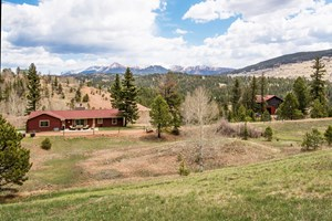 COLORADO RANCH ON 39.3 ACRES WITH PIKE PEAK VIEWS & POND