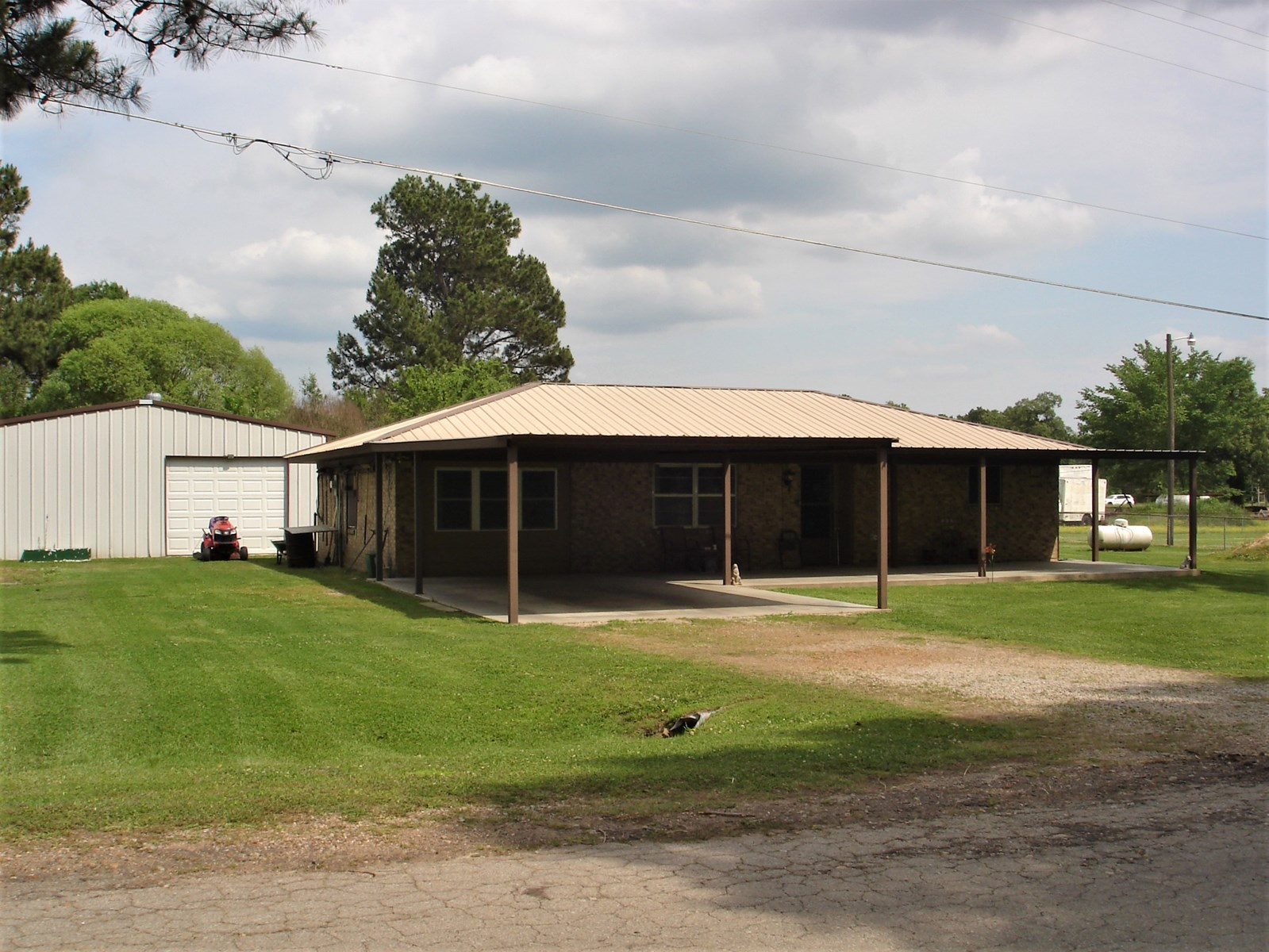 Country Home For Sale Powderly Texas Northeast Lamar County