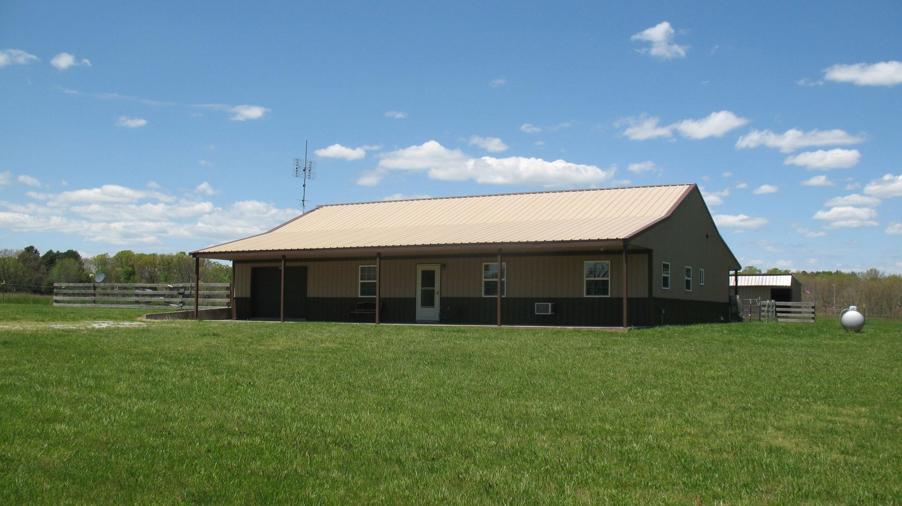 Contemporary Home and Acreage for Sale