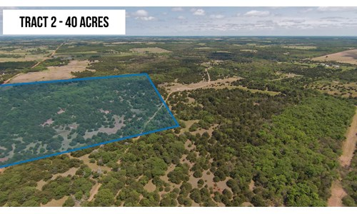 40 Acres Oklahoma Hunting Land for Sale – Logan County