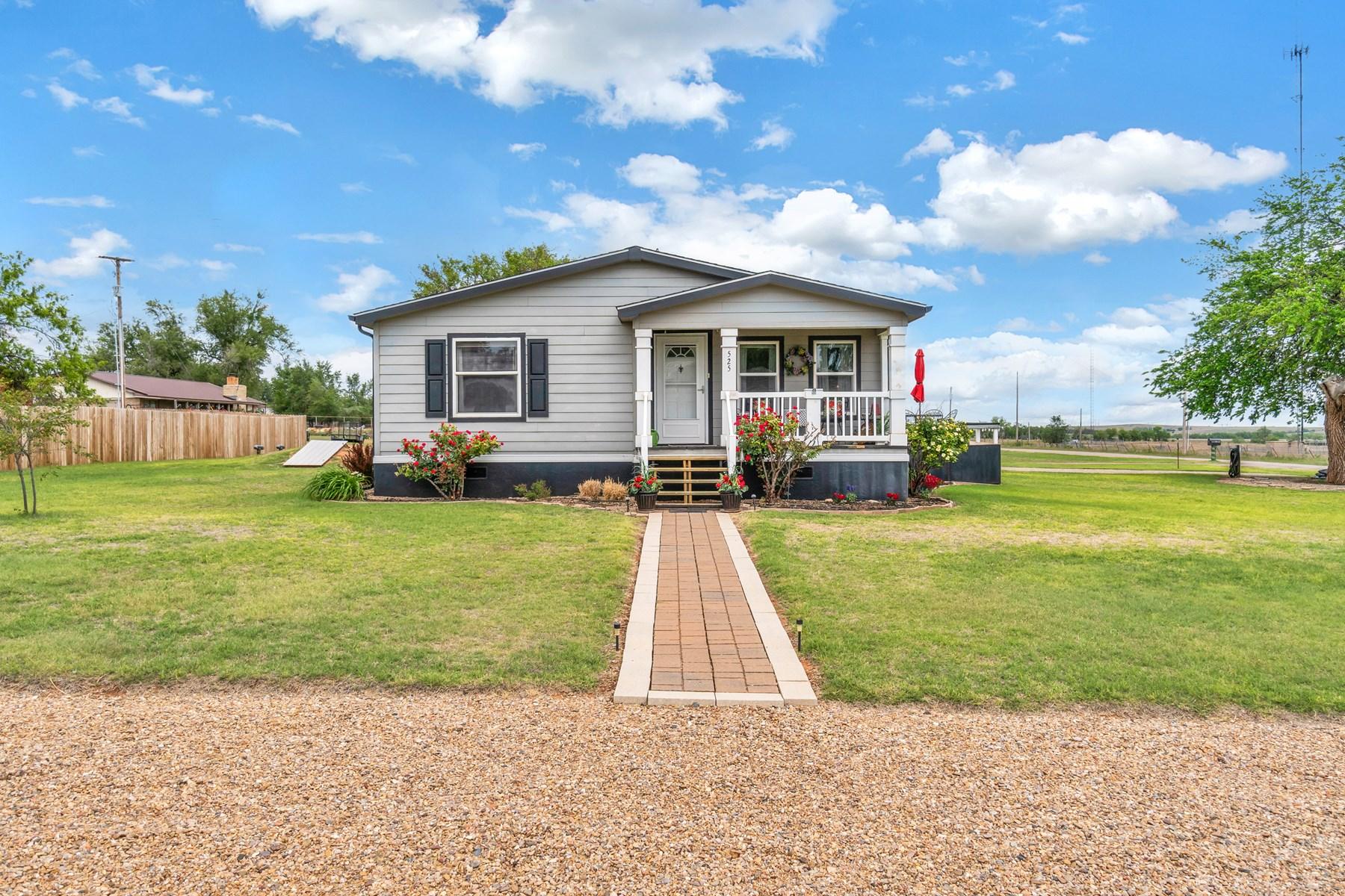 Western Oklahoma Home for Sale, Leedey, OK, Dewey County