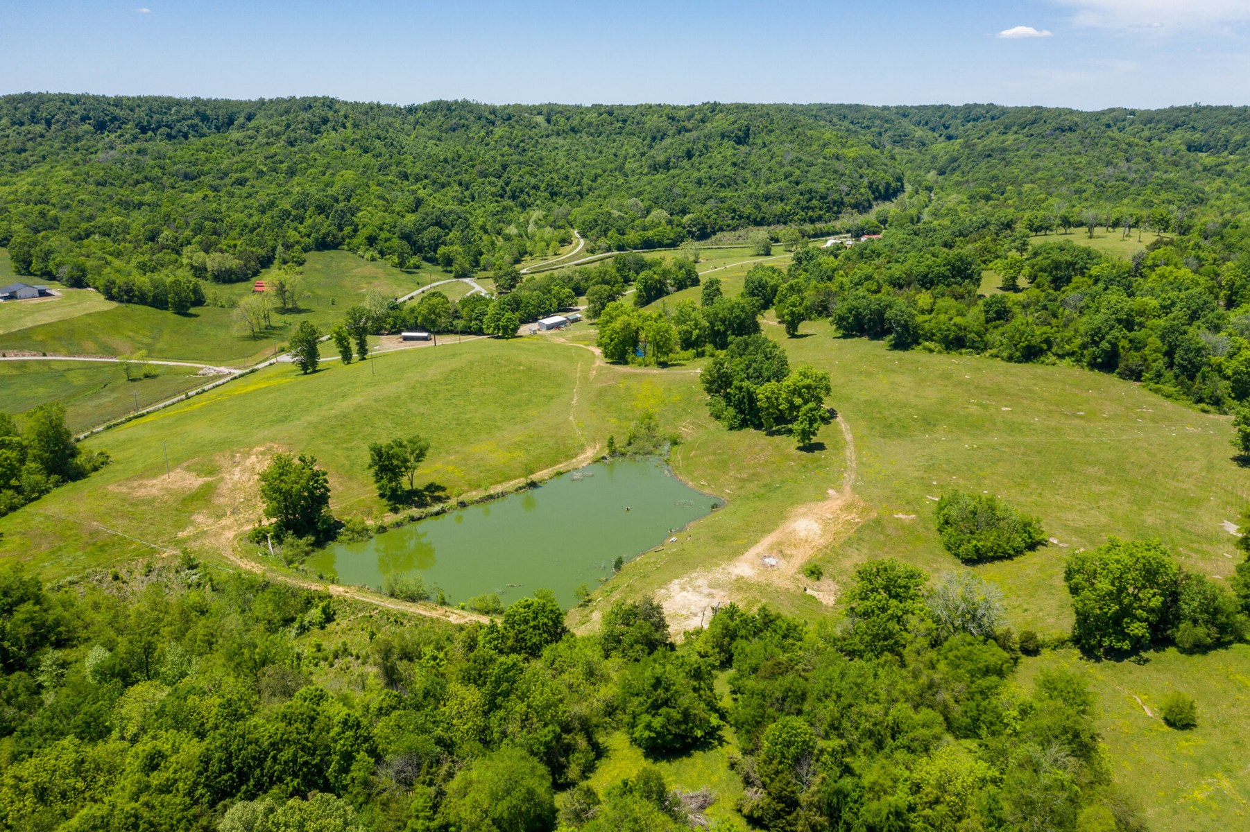 Equine Property with Acreage for Sale in Belfast, Tennessee