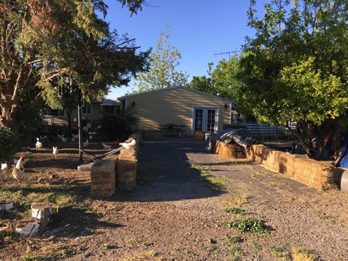 Rural Esparto Home For Sale, Commercial