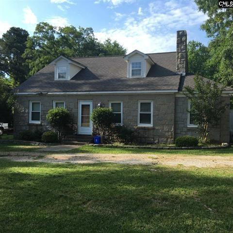 Circa 1935 Blue Granite Home in Historic Winnsboro, SC