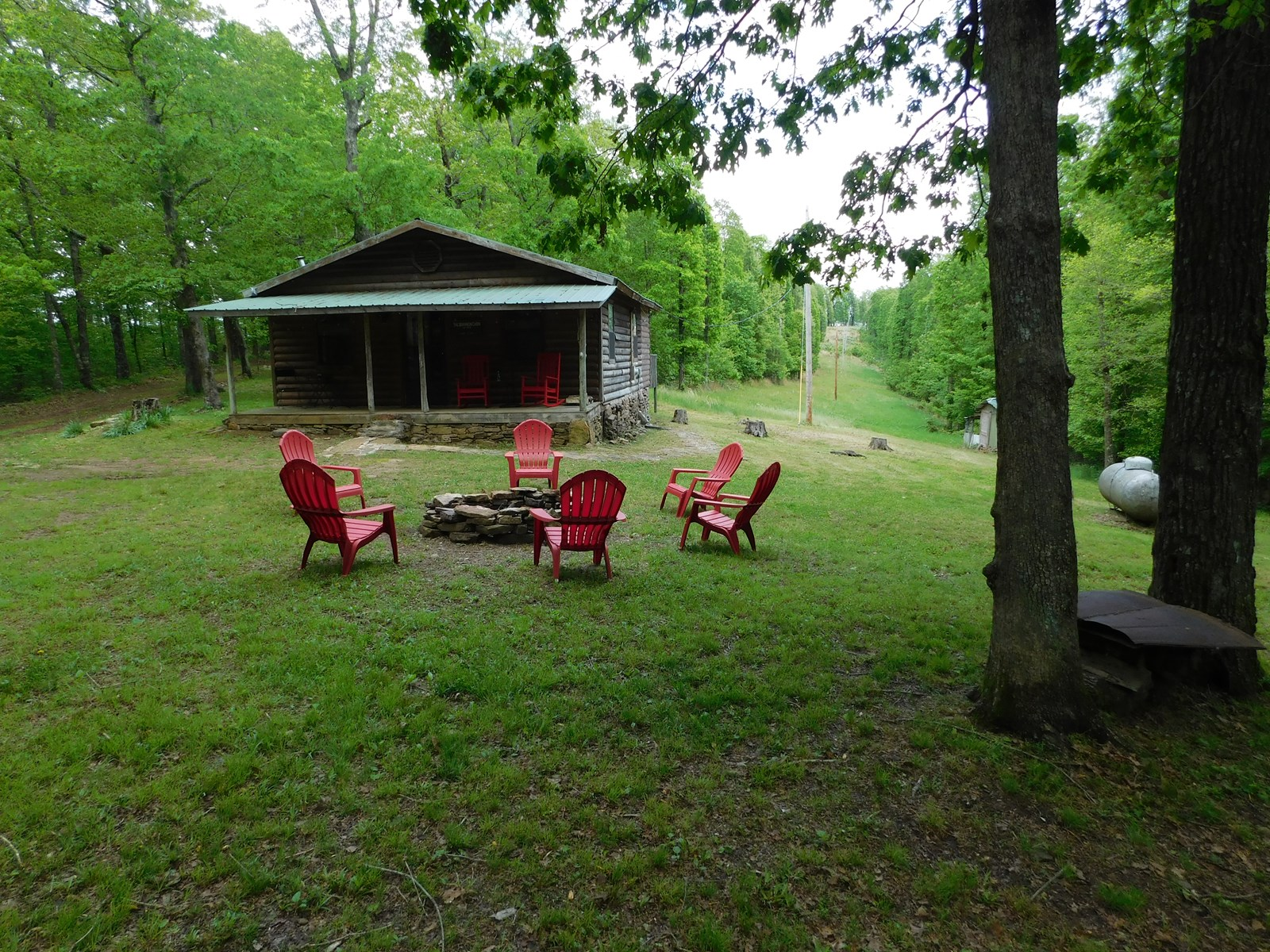 Cabin  Bordering Ozark National Forest For Sale Newton Co