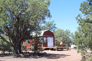 FENCED LAND WITH SHED/CABINS AND HORSE FACILITIES FOR SALE