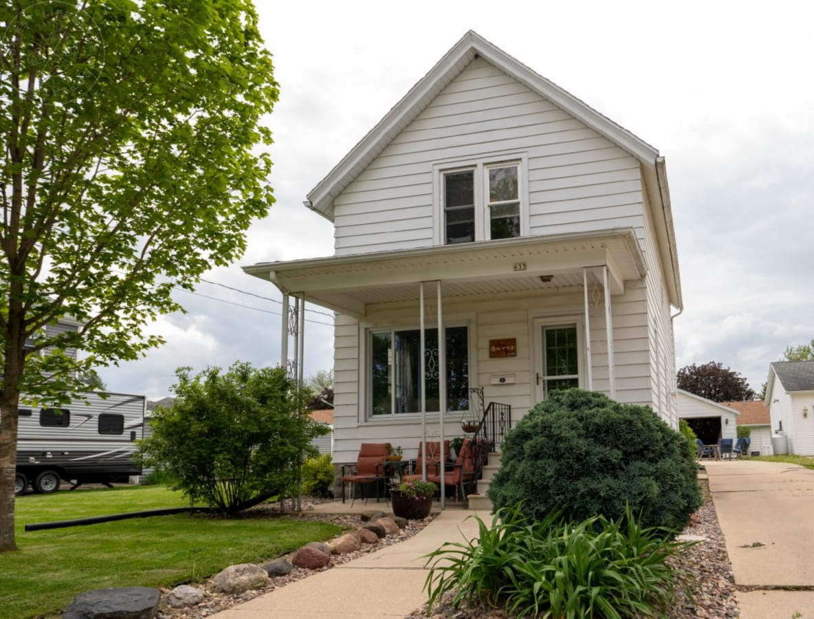Beautiful two story home on .2 acres, located in Randolph