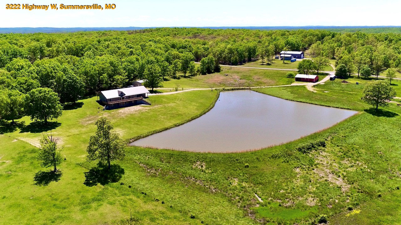 Southern Missouri Home and Acreage for Sale