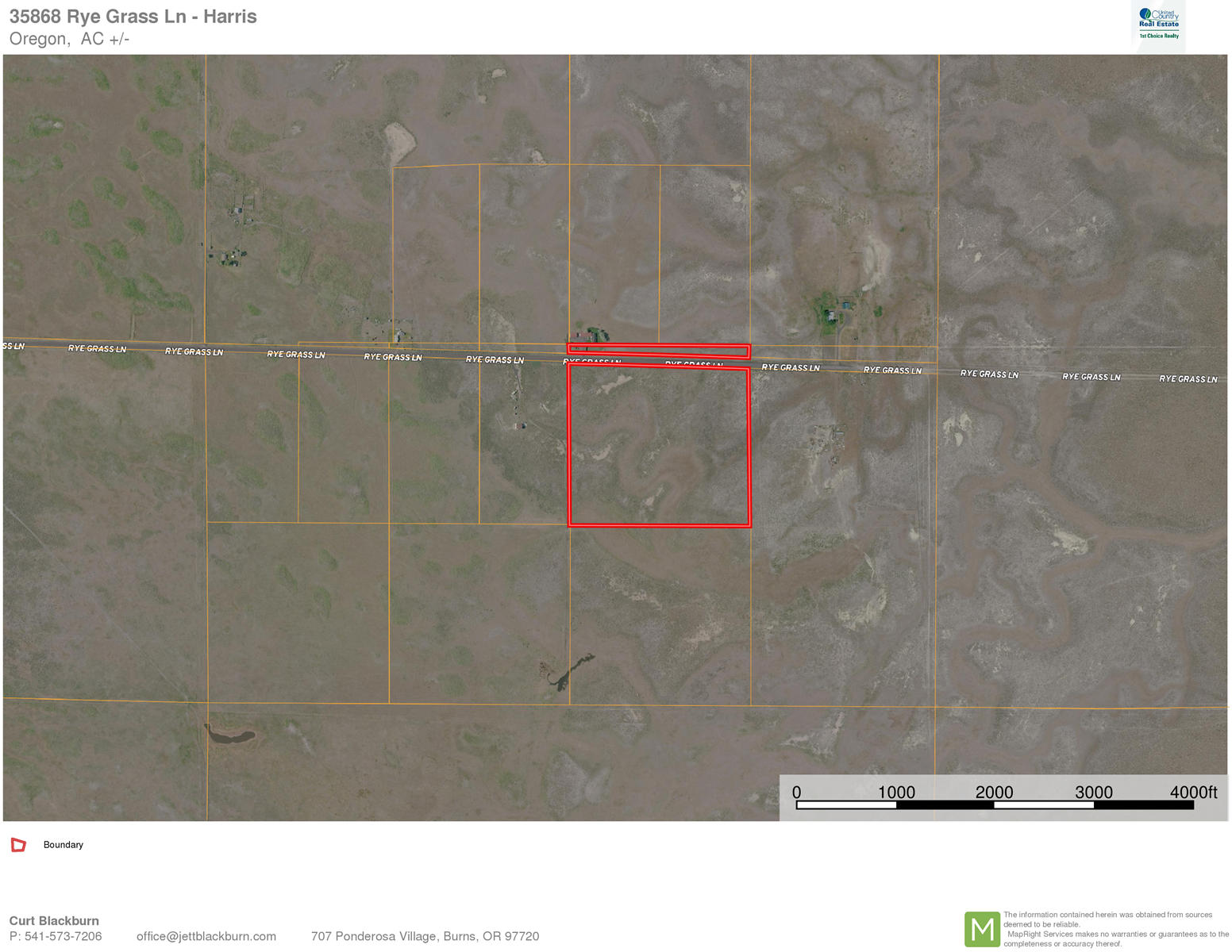 Build your new home on 39 acres outside of Burns