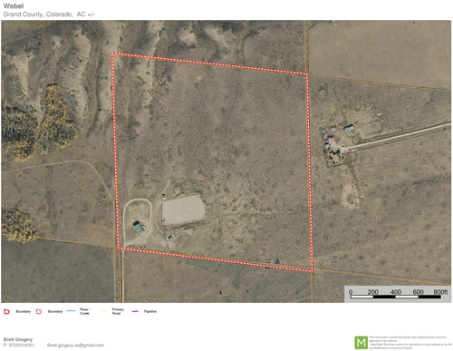 Horse Property with corrals, arena, steel building, well