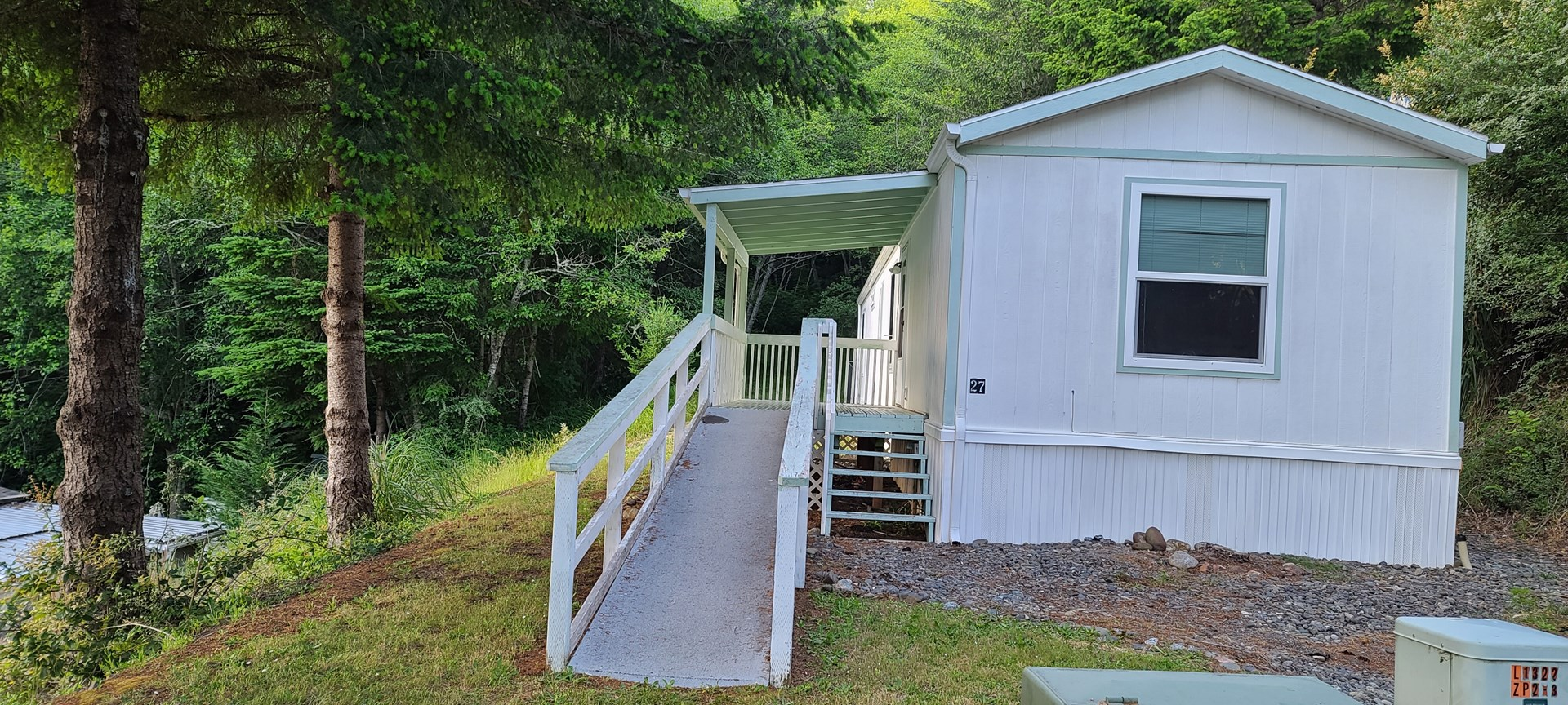MANUFACTURED HOME IN 55+ PARK FOR SALE ON OREGON COAST