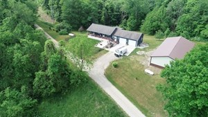 MONROE COUNTY, OH HUNTING LAND WITH HOME FOR SALE