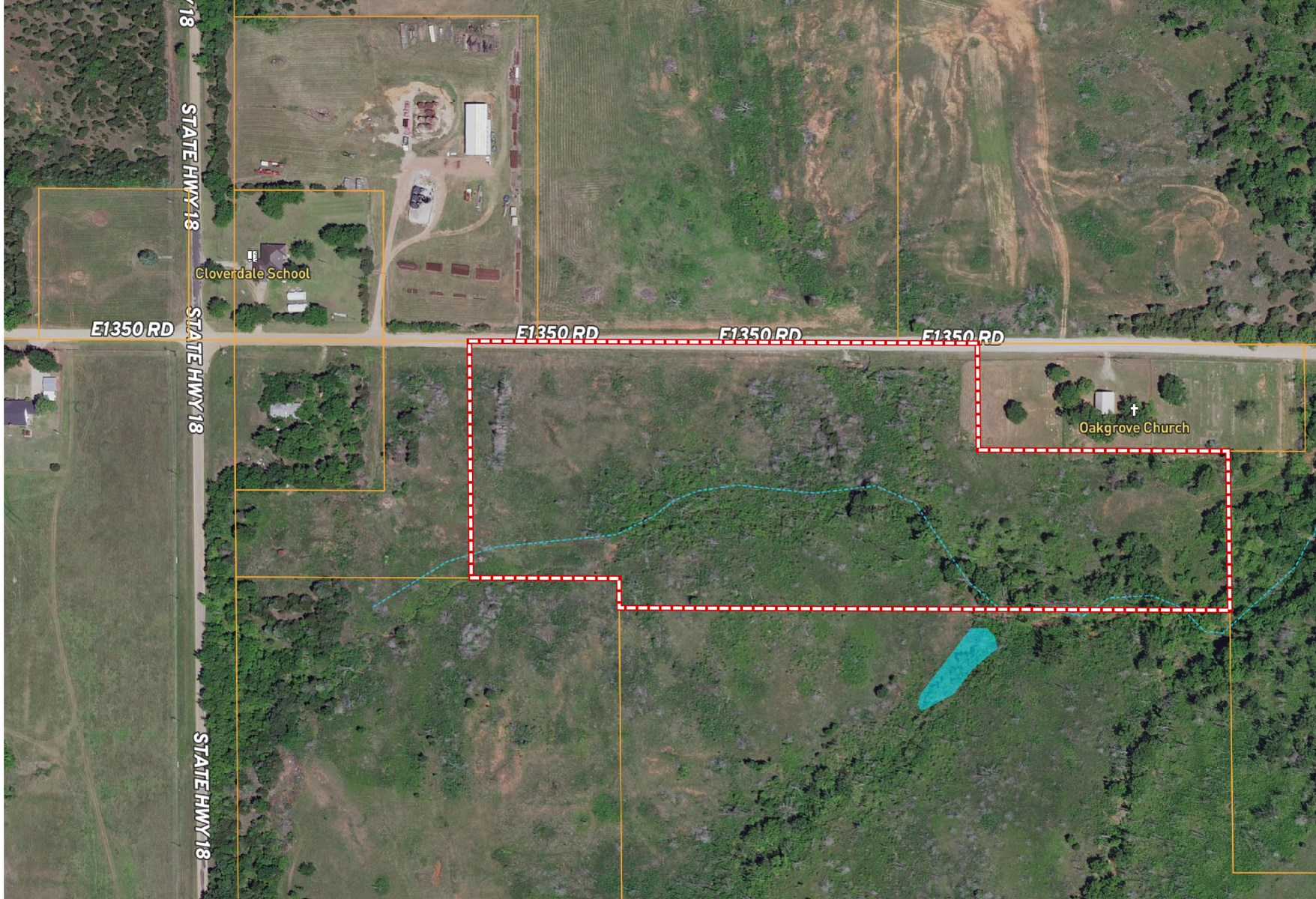 Live and Hunt - 15 Acres! - NEAR Highway 177!