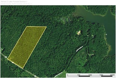 24 Acres With 700 Feet Of Waterfront On Kerr Lake, NC