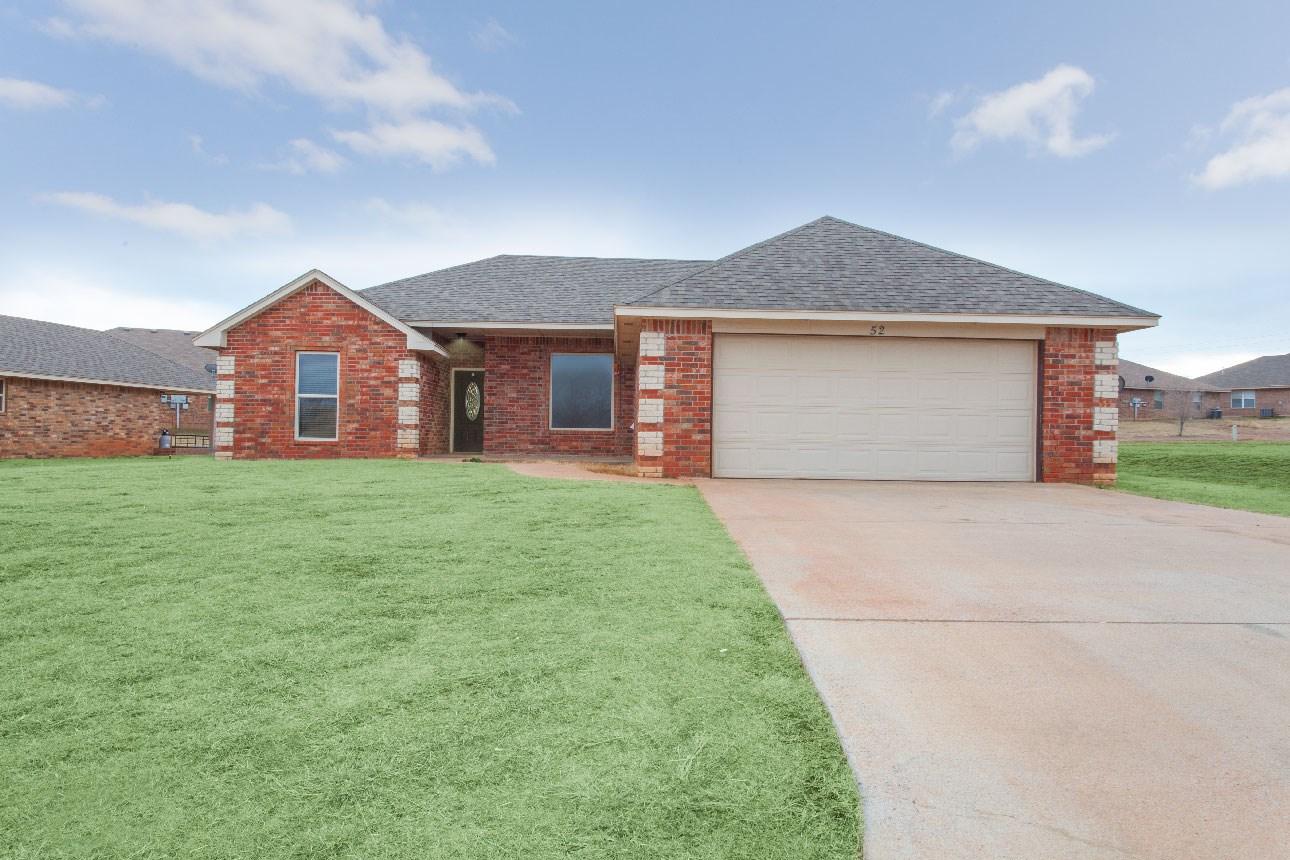 Western Oklahoma Home for Sale, Clinton, OK, Custer County