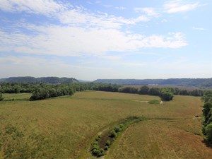 CROP LAND - RIVER BOTTOM - SECLUDED - HUNTING - LIBERTY, KY.